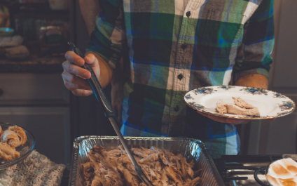 Thanksgiving and divorce don't always jell, but they're not so bad together