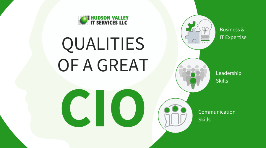 Qualities of a CIO infographic