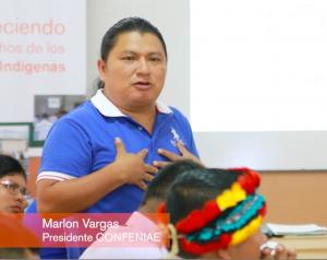 Marlon Vargas, CONFENIAE President