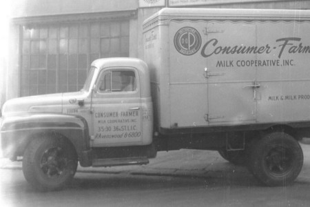 The Consumer-Farmer Milk Cooperative Long Island City Milk Truck