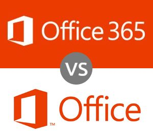 Office 365 VS Microsoft Office 2013
