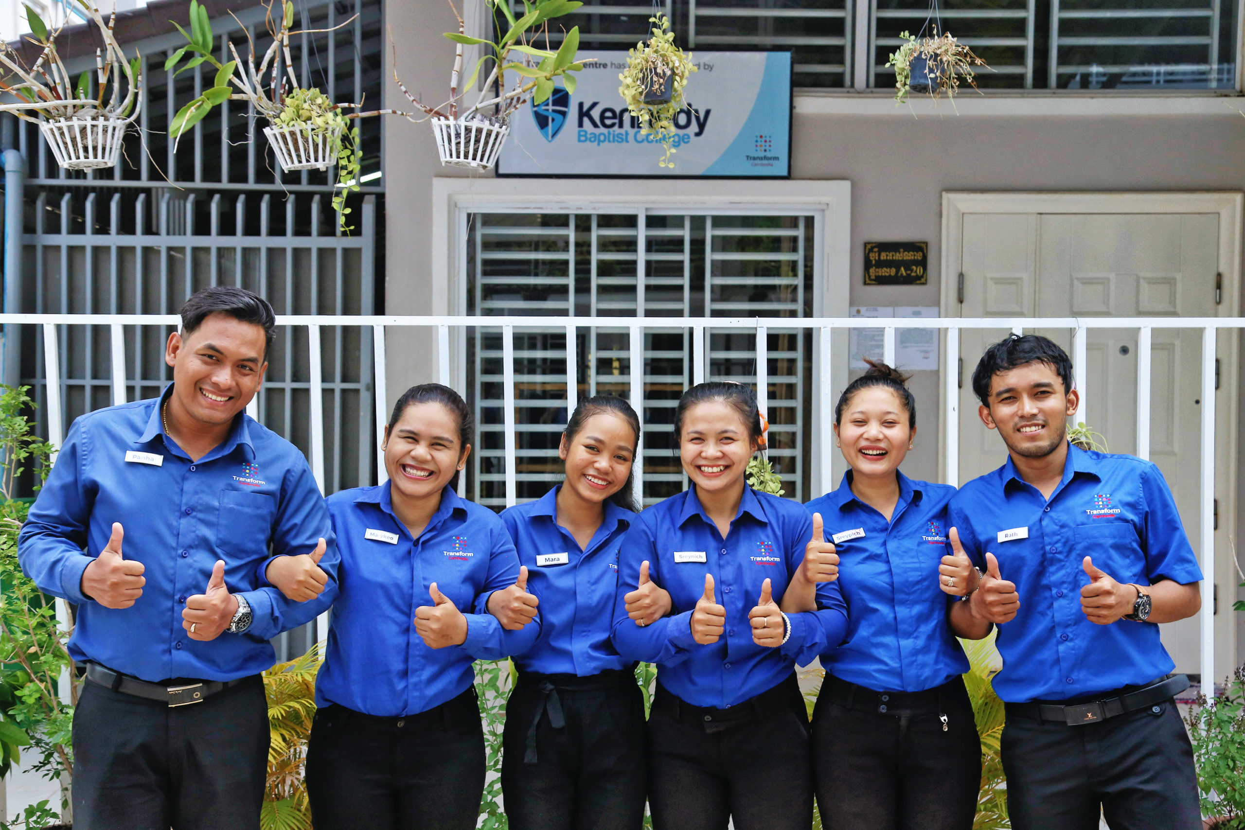 Panha, your centre manager and the staff of the Kennedy Baptist Centre.