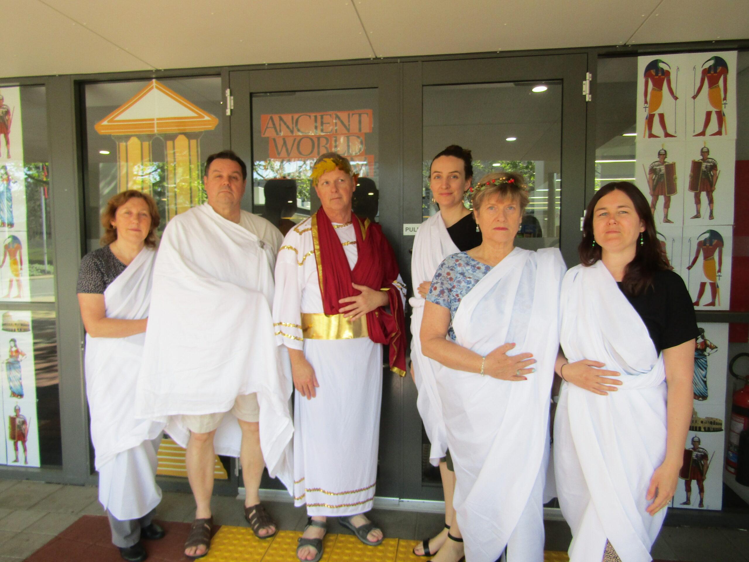 AWM - RASC staff dressed up!