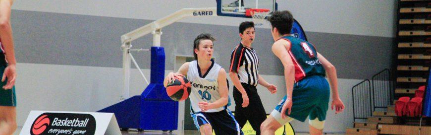 Senior Boys Basketball Team Won Inaugural ACC Championship
