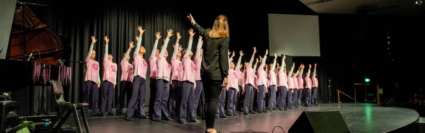 Australian Girls Choir Visit Kennedy