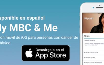 Anunciando My MBC & Me: una aplicación de cáncer de seno metastásico