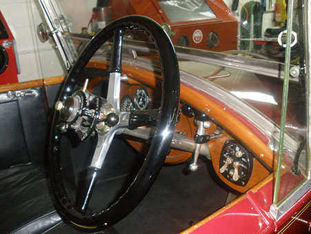 The Steering Wheel & Driver's Controls