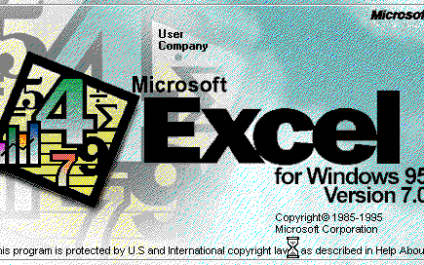 A Short History of Microsoft Excel