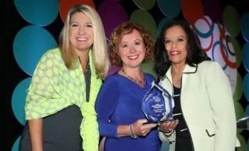 MXOtech, Inc. CEO, Joanna Mirov, Receives Deborah Sawyer Rising Star Award from the Women's Business Development Center