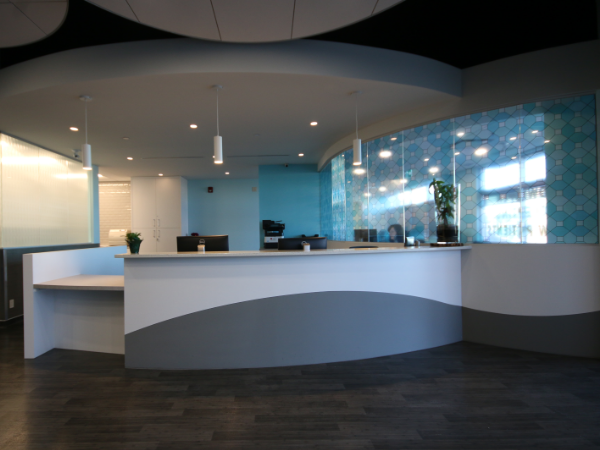 Office Interior Renovations Canadian Energy Services LP