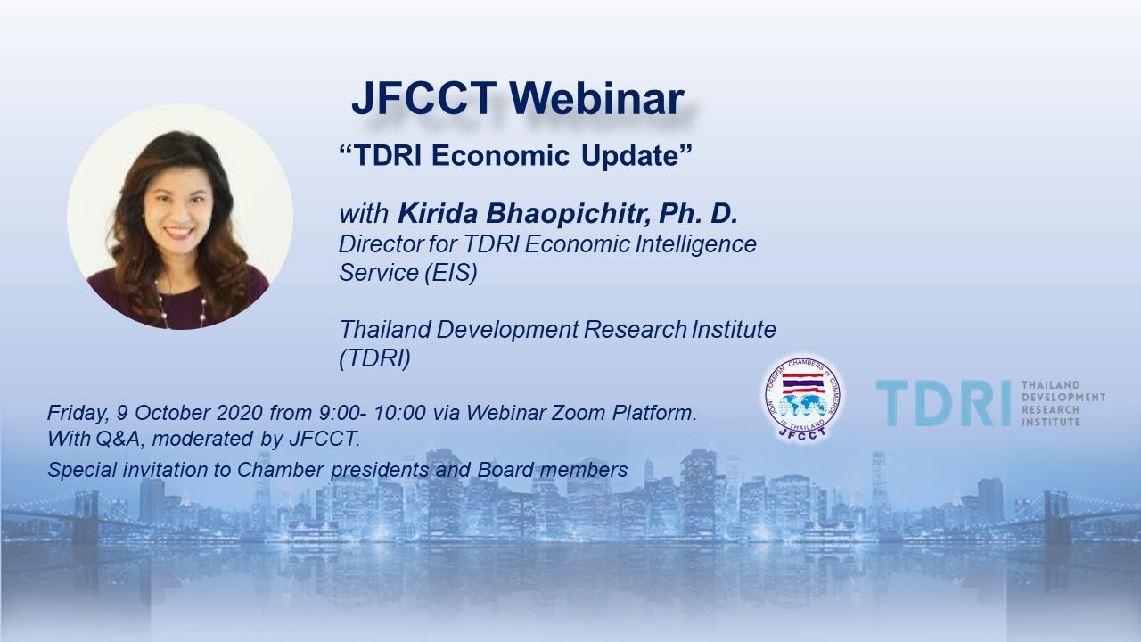 JFCCT-Webinar-TDRI-Economic-Update-9-Oct