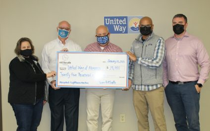 HillSouth Co-Founders, Andy Patel & Robby Hill, Continue to Support United Way of Florence County During Difficult Times