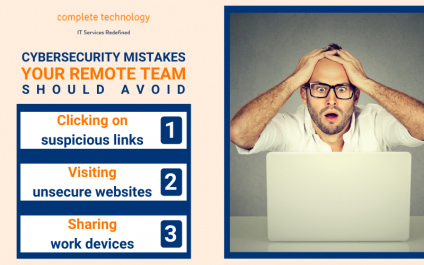 3 Cybersecurity mistakes your remote team might be making right now
