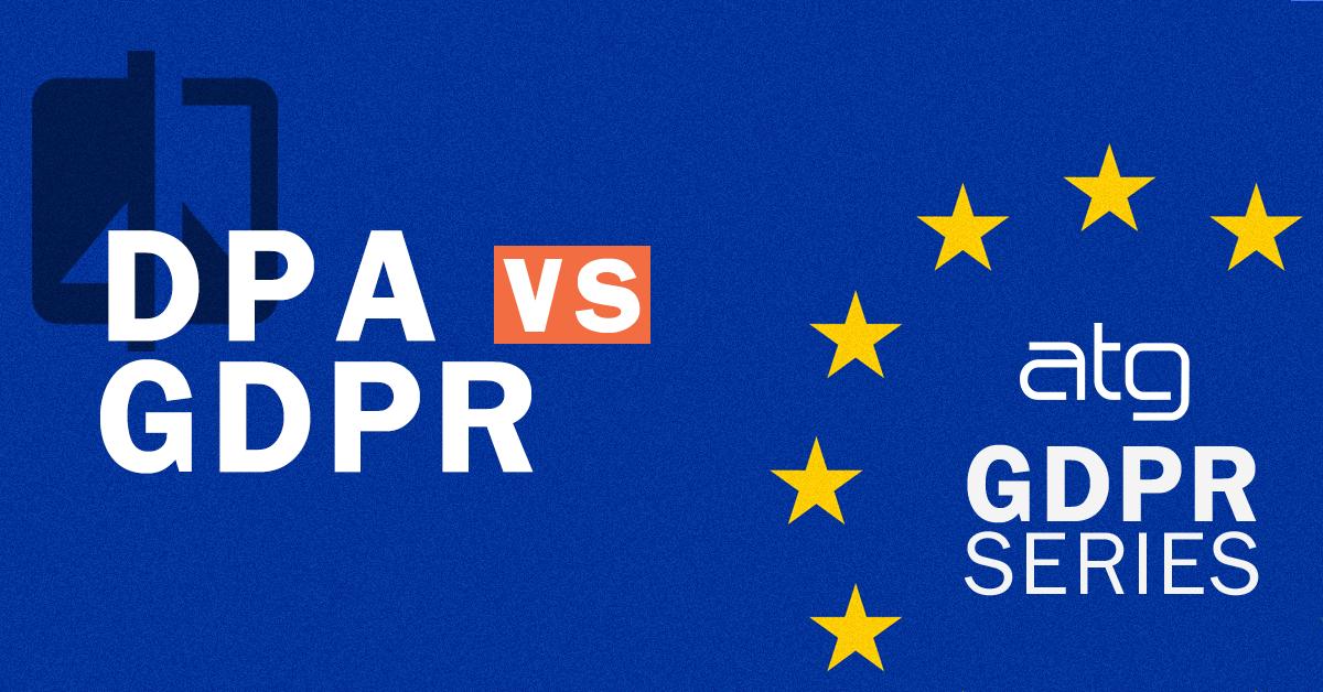 DPA-VS-GDPR