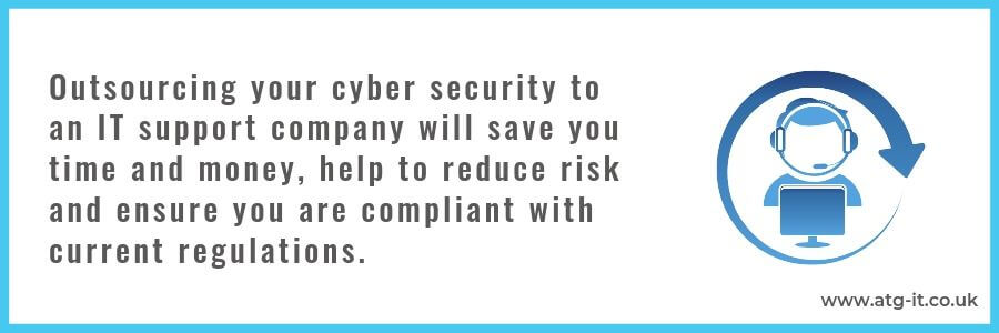 Benefits of outsourcing IT cyber security for SMEs - quote (900x300)