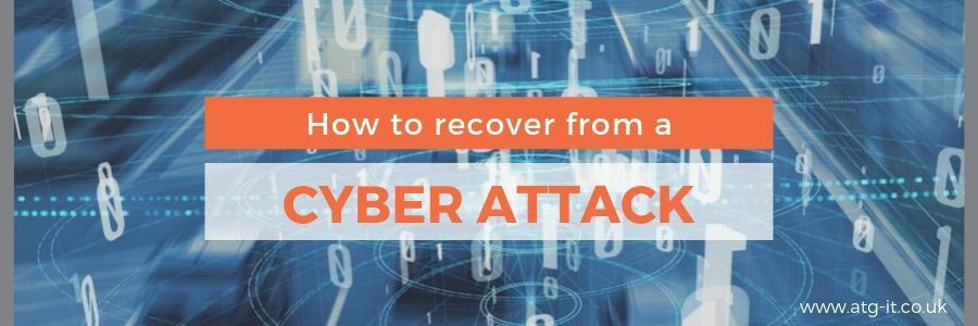 How to recover from a cyber attack - blog feature image 900 x 300