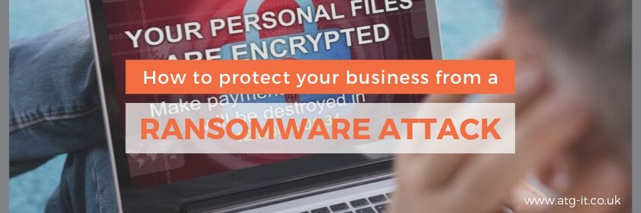 How to protect your business from a ransomware attack blog feature image 900 x 300