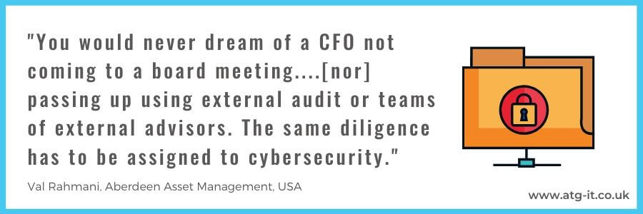 Security audit for smes - whats our process at atg - quote image