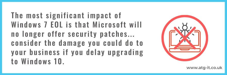 Still Using Windows 7? The risks of not upgrading and what you should do about it - quote image