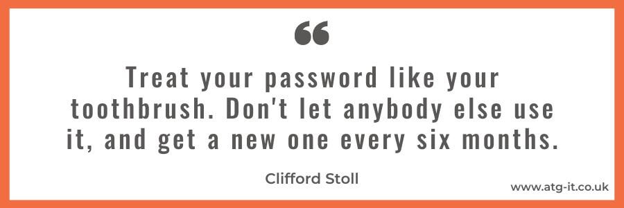 Password protection for SMEs: The importance of using a password manager - quote image