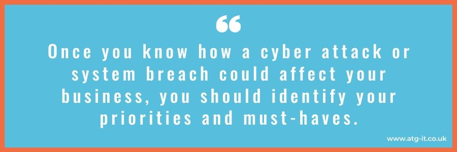 Outsourcing cyber security How does it work - quote image