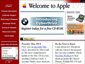 apple website as in 1998