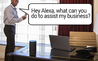 Best uses of Alexa in a business setting