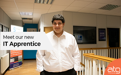 Meet our new 'IT Apprentice', Lucas Hollister