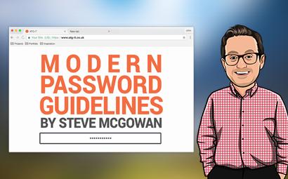Modern Password Guidelines w/ Steve McGowan