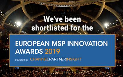 We've been shortlisted for the 'European MSP Innovation Awards' 2019