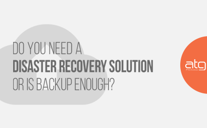 Do You Need A Disaster Recovery Solution or is Backup Enough?