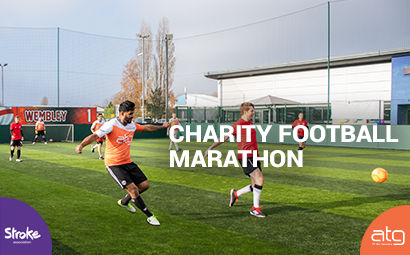ATG Charity Football Marathon.