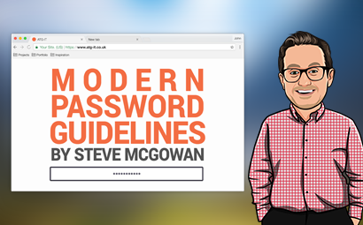 Modern Password Guidelines w/ Steve McGowan
