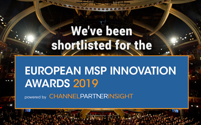 We've been shortlisted for the 'European MSP Innovation Awards' 2019