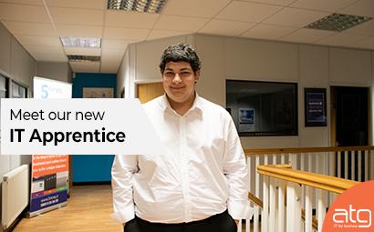 Meet our new 'IT Apprentice', Lucas Hollister