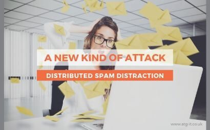 A new kind of attack: Distributed spam distraction