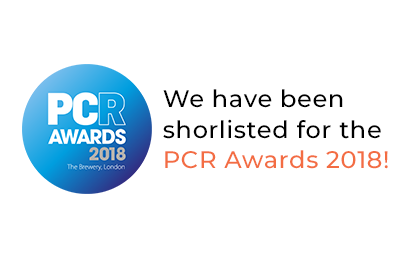 We have been shortlised for the PCR Awards 2018!