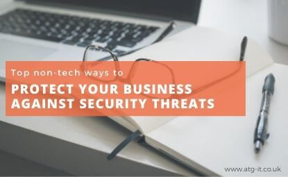 Top non-tech ways to protect against security threats
