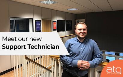 Meet our new 'Support Technician', Adam Williams