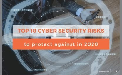 Top 10 cyber security risks to protect against in 2020