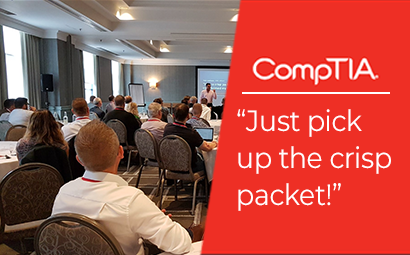 Just pick up the crisp packet! – CompTIA Birmingham
