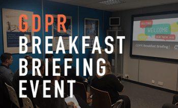GDPR Breakfast Briefing Event