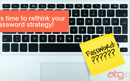 It's time to rethink your password strategy!