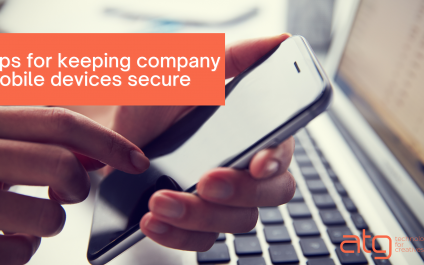 Tips for keeping company mobile devices secure