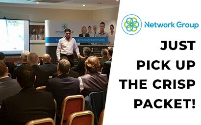 Just pick up the crisp packet! – Mark's Network Group presentation.