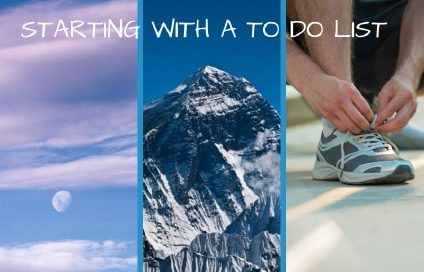Starting with a To Do List