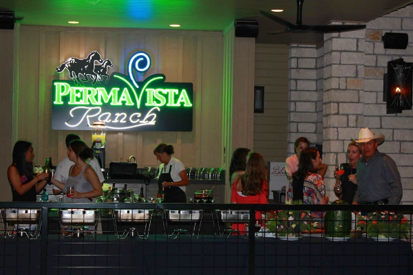 We offer catering services for special events at PermaVista
