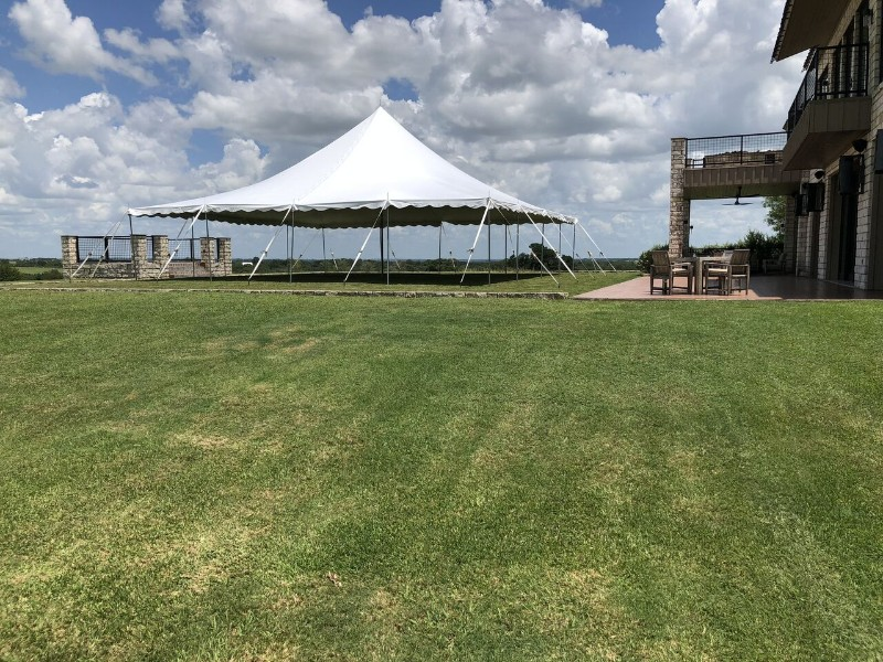 40' x 40' tent available