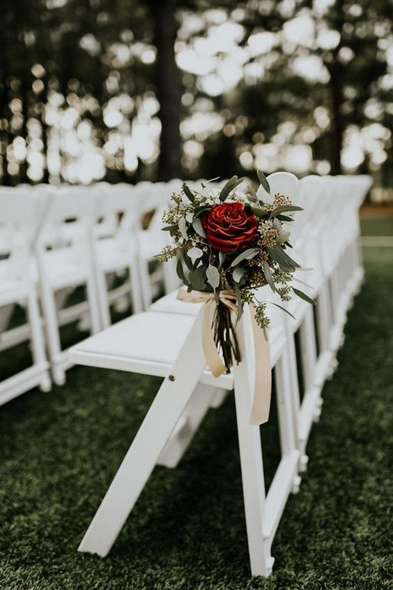 Outdoor Ceremony Chairs included in the Package