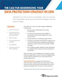 The Case for Mordernizing Your Data Protection Strategy In 2014